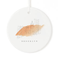 Brooklyn Christmas Ornament - The Cotton and Canvas Co.