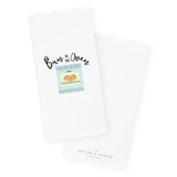 Bun in the Oven Cotton Canvas Kitchen Tea Towel and Dish Cloth - The Cotton and Canvas Co.