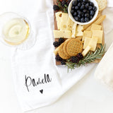 Personalized Name Kitchen Tea Towel - The Cotton and Canvas Co.