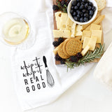 Whip It, Whip It Real Good Kitchen Tea Towel - The Cotton and Canvas Co.