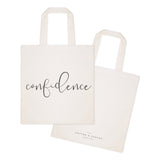 Confidence Gym Cotton Canvas Tote Bag - The Cotton and Canvas Co.