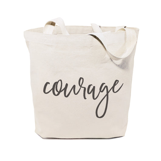 Courage Gym Cotton Canvas Tote Bag - The Cotton and Canvas Co.