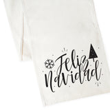Feliz Navidad Cotton Canvas Table Runner - The Cotton and Canvas Co.