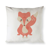Fox Baby Pillow Cover - The Cotton and Canvas Co.