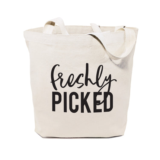Freshly Picked Cotton Canvas Tote Bag - The Cotton and Canvas Co.