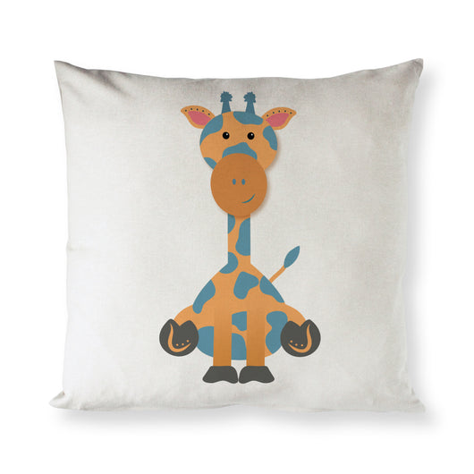 Giraffe Baby Pillow Cover - The Cotton and Canvas Co.