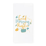 Good Morning Pumpkin Kitchen Tea Towel - The Cotton and Canvas Co.