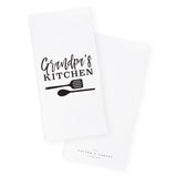 Grandpa's Kitchen Tea Towel and Dish Cloth - The Cotton and Canvas Co.