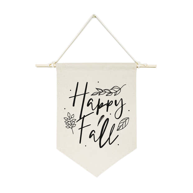 Happy Fall! Hanging Wall Banner 1