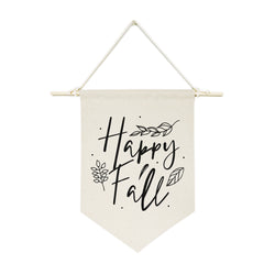 Happy Fall! Hanging Wall Banner - The Cotton and Canvas Co.