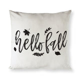 Hello Fall Pillow Cover - The Cotton and Canvas Co.