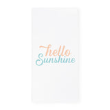 Hello Sunshine Kitchen Tea Towel - The Cotton and Canvas Co.