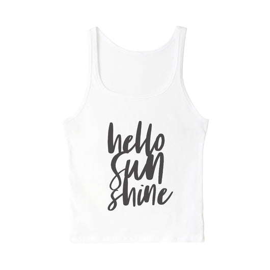 Hello Sunshine Tank - The Cotton and Canvas Co.