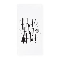 Ho! Ho! Ho! Christmas Kitchen Tea Towel - The Cotton and Canvas Co.