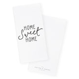 Home Sweet Home Kitchen Tea Towel - The Cotton and Canvas Co.
