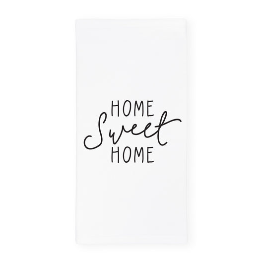 Home Sweet Home Kitchen Tea Towel and Dish Cloth - The Cotton and Canvas Co.