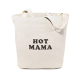 Hot Mama Cotton Canvas Tote Bag - The Cotton and Canvas Co.