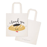 I Knead You Cotton Canvas Tote Bag - The Cotton and Canvas Co.