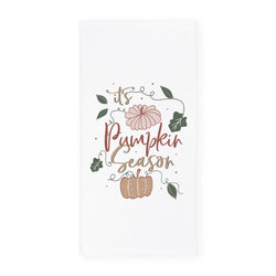 It's Pumpkin Season Kitchen Tea Towel - The Cotton and Canvas Co.