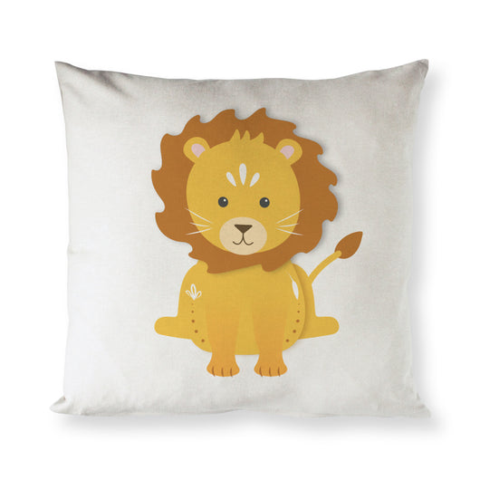Lion Baby Pillow Cover - The Cotton and Canvas Co.