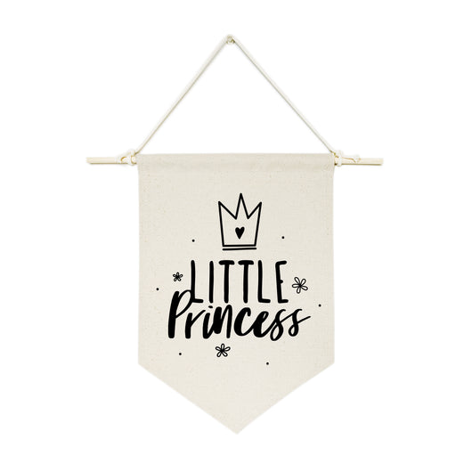 Little Princess Hanging Wall Banner - The Cotton and Canvas Co.