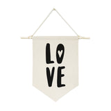Love Hanging Wall Banner - The Cotton and Canvas Co.