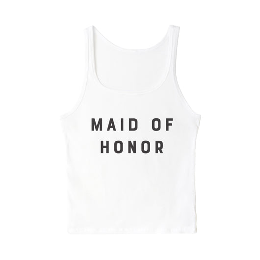Modern Maid of Honor Tank - The Cotton and Canvas Co.
