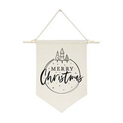 Merry Christmas Hanging Wall Banner - The Cotton and Canvas Co.