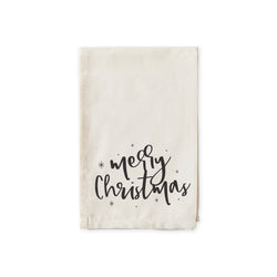 Merry Christmas Cotton Muslin Napkins - The Cotton and Canvas Co.