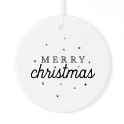 Merry Christmas Ornament - The Cotton and Canvas Co.