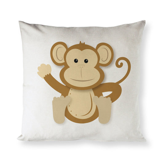 Monkey Baby Pillow Cover - The Cotton and Canvas Co.