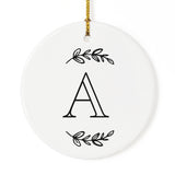 Personalized Monogram Christmas Ornament - The Cotton and Canvas Co.