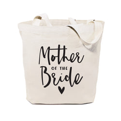 Cotton Canvas Mother of the Bride Wedding Tote Bag - The Cotton and Canvas Co.