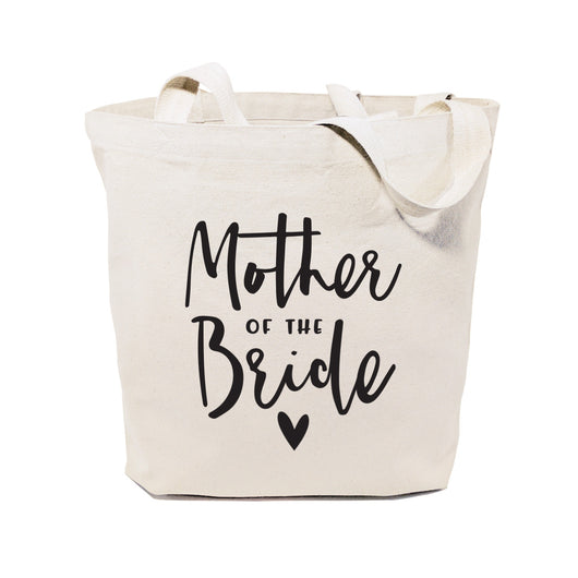 Mother of the Bride Wedding Cotton Canvas Tote Bag - The Cotton and Canvas Co.