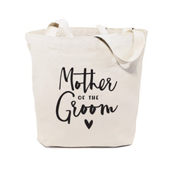 Cotton Canvas Mother of the Groom Wedding Tote Bag - The Cotton and Canvas Co.