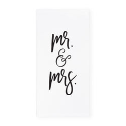 Mr. & Mrs. Kitchen Tea Towel - The Cotton and Canvas Co.