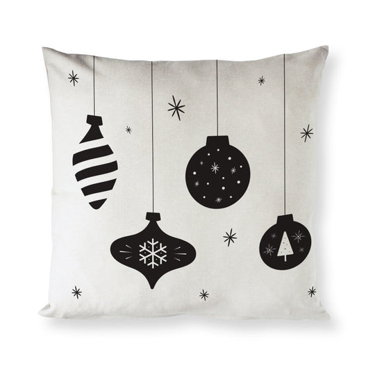 Hanging Ornament Christmas Holiday Pillow Cover - The Cotton and Canvas Co.