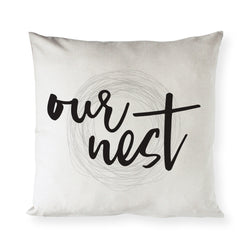 Our Nest Pillow Cover - The Cotton and Canvas Co.
