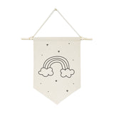 Rainbow Hanging Wall Banner - The Cotton and Canvas Co.