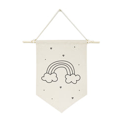 Rainbow Hanging Wall Banner