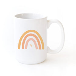 Rainbow Coffee Mug - The Cotton and Canvas Co.
