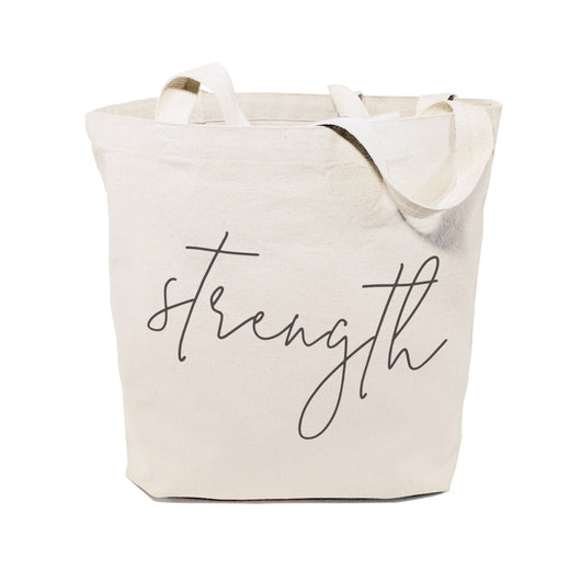Strength Gym Cotton Canvas Tote Bag - The Cotton and Canvas Co.