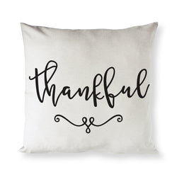 Thankful Pillow Cover - The Cotton and Canvas Co.