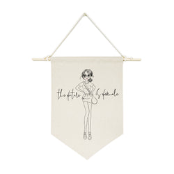 The Future is Female Hanging Wall Banner