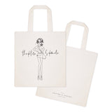 Stay Golden Cotton Canvas Tote Bag - The Cotton and Canvas Co.