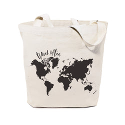 Travel Often Cotton Canvas Tote Bag - The Cotton and Canvas Co.