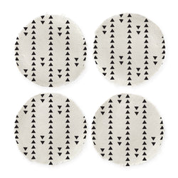 Tribal Pattern Cotton Canvas Drink Coasters, Set of 4 - The Cotton and Canvas Co.