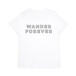 Wander Forever Women's Graphic Tee - The Cotton and Canvas Co.