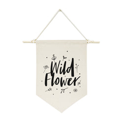 Wild Flower Hanging Wall Banner