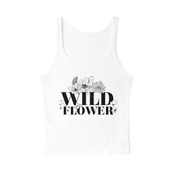 Wild Flower Tank - The Cotton and Canvas Co.